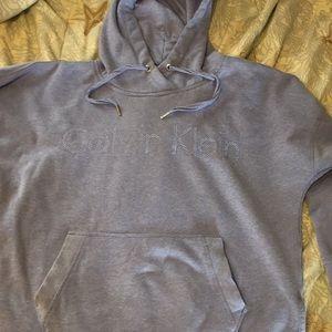 Calvin Klein dusty purple extra large hoodie